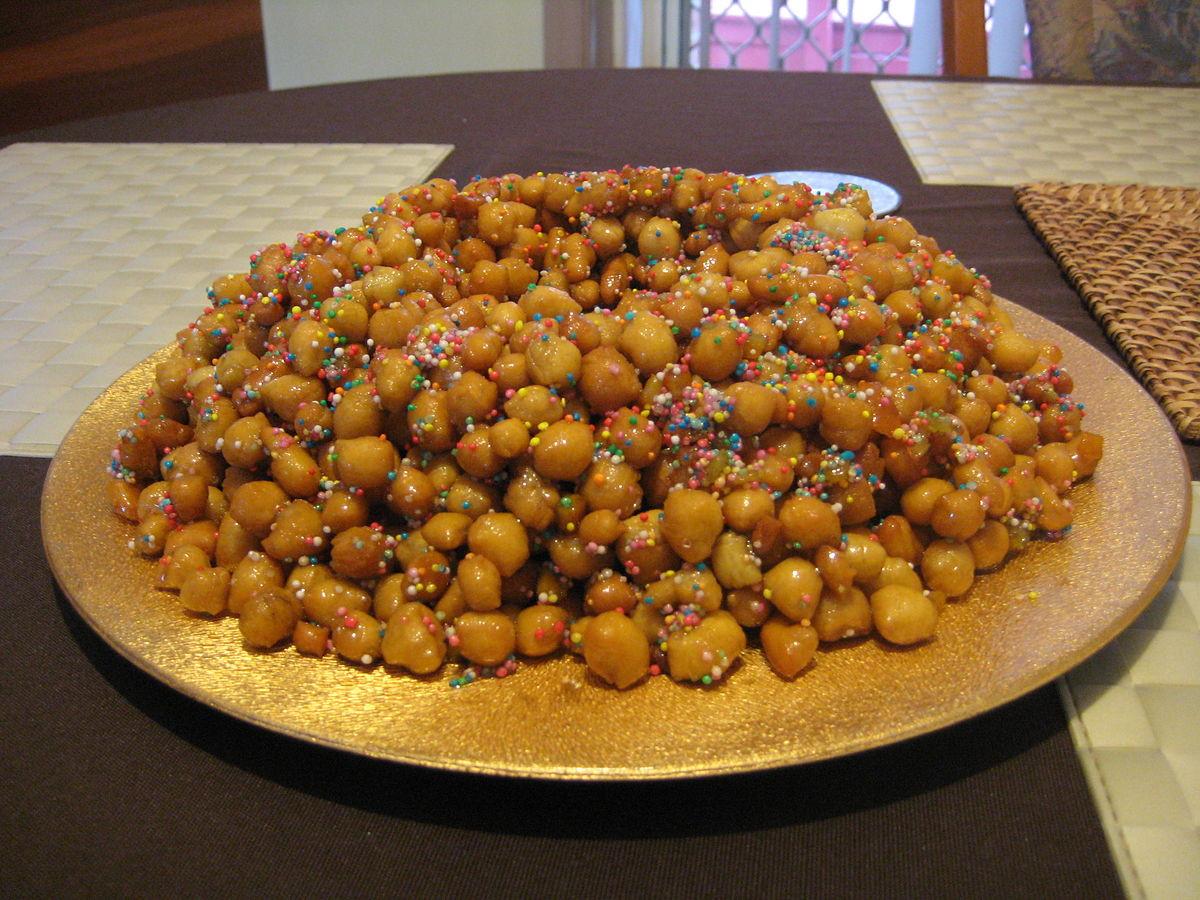 Italian Christmas Desserts Recipes  Italian Christmas Recipe Struffoli