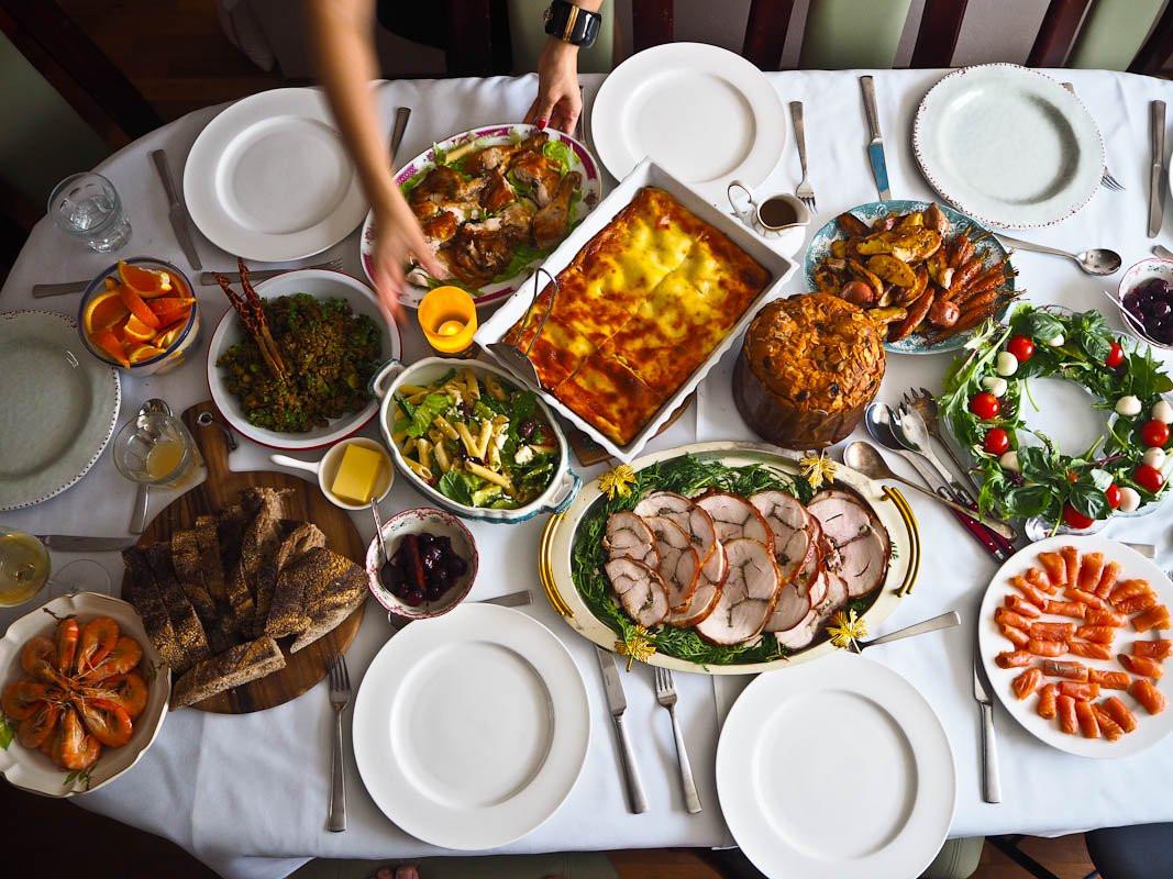 Italian Christmas Dinner  Italian Christmas Recipes Not Quite Nigella