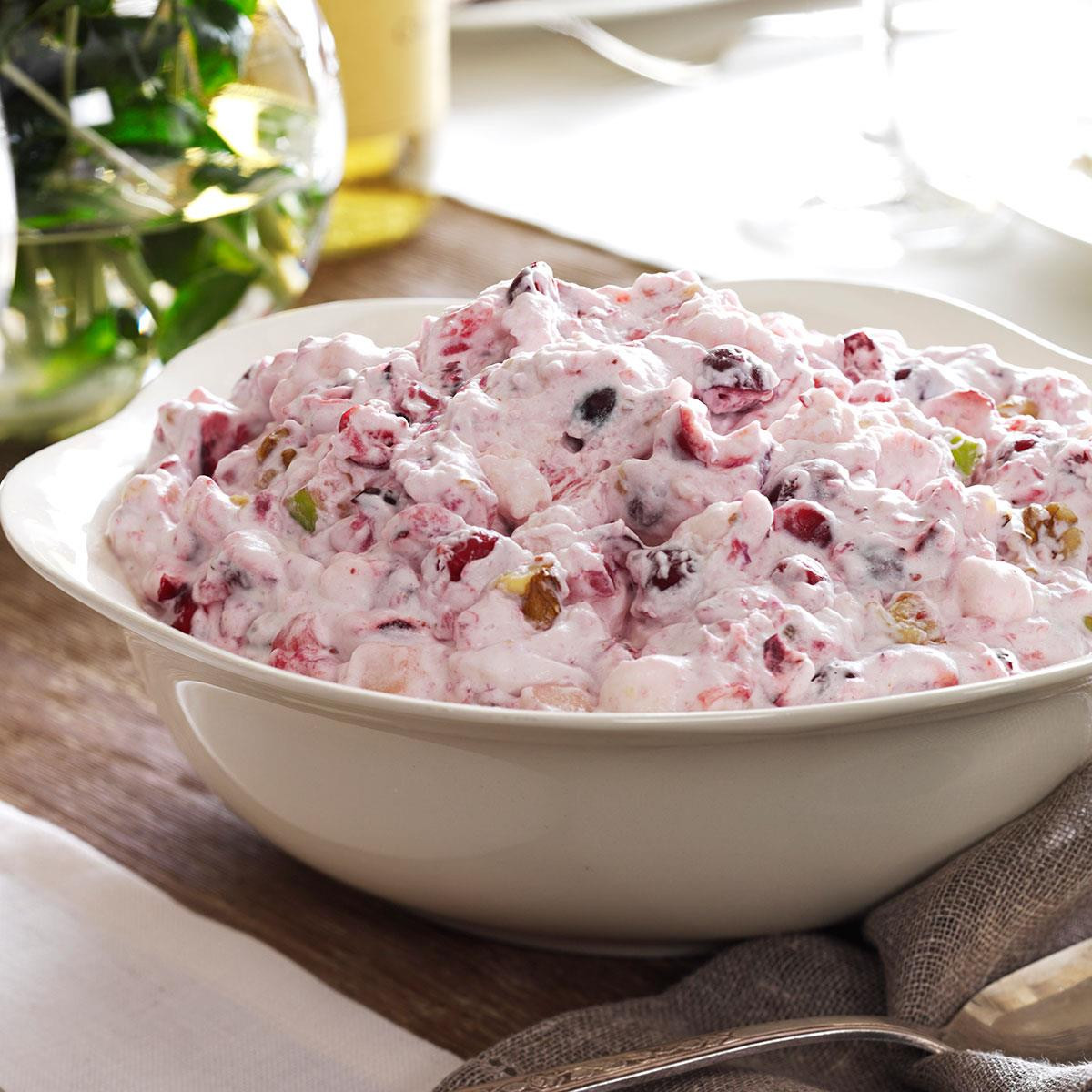Jello Salads For Thanksgiving Dinner  Creamy Cranberry Salad Recipe