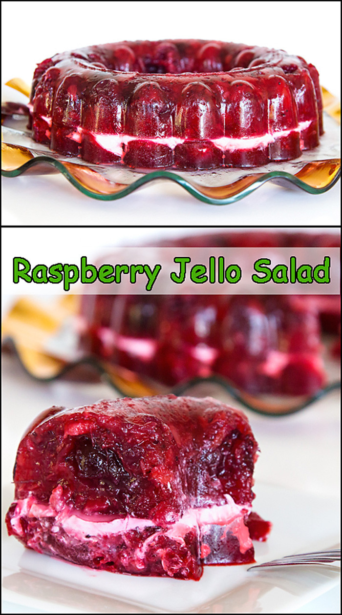 Jello Salads For Thanksgiving Dinner  Cran Raspberry Jello Salad Joy In Every Season