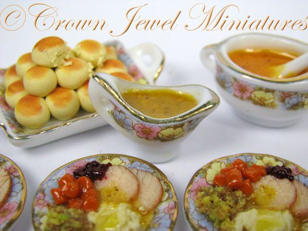 Jewel Thanksgiving Dinner  29 best images about Crown Jewel 1 12 Holiday Dinners on