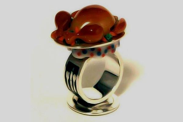 Jewel Thanksgiving Dinner  Toy Rings – K O Jewel