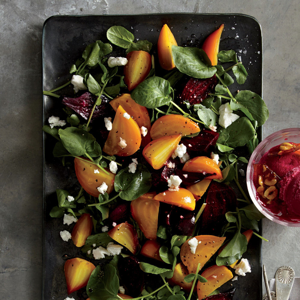 Jewel Thanksgiving Dinner  Roasted Red and Golden Beet Salad Recipe