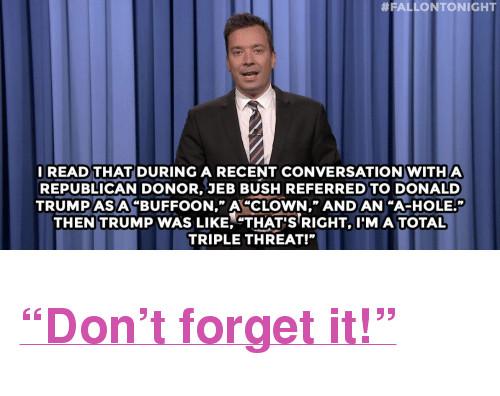 Jimmy Fallon Jeb Bush Guacamole  25 Best Memes About Jeb Bush