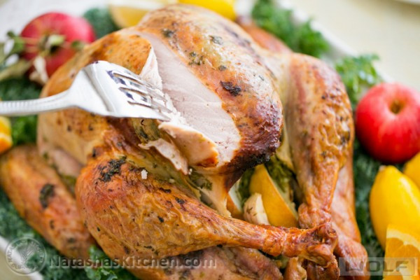 Juicy Thanksgiving Turkey Recipe  Turkey Recipe Juicy Roast Turkey Recipe How to Cook a
