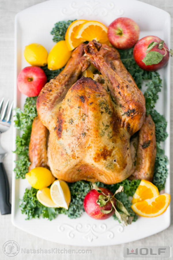 Juicy Thanksgiving Turkey Recipe  Delicious Juicy Roast Turkey Recipe