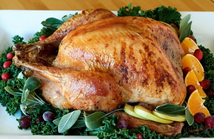 Juicy Thanksgiving Turkey Recipe  How To Cook A Turkey