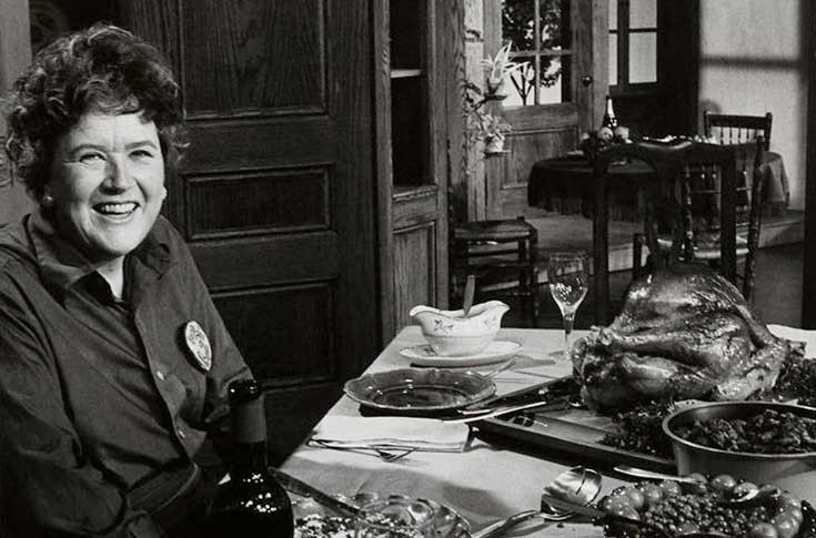 Julia Child Thanksgiving Turkey  In the News