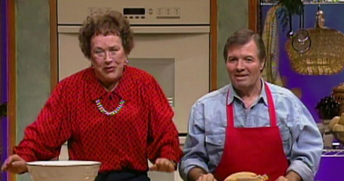 Julia Child Thanksgiving Turkey  Julia Child & Jacques Pepin Prepare A Stuffed Turkey