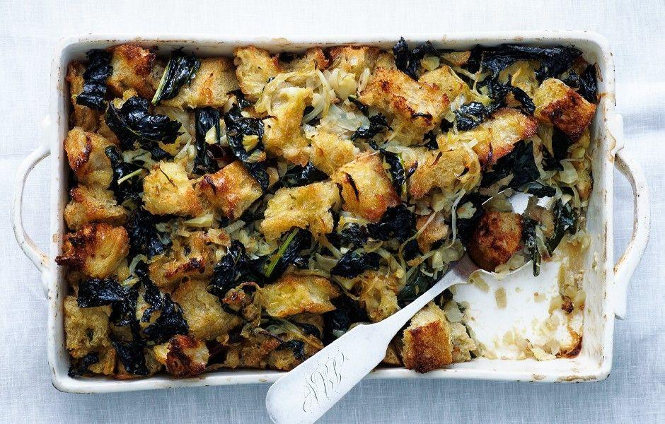 Kale Thanksgiving Recipes  Kale Dressing Recipe