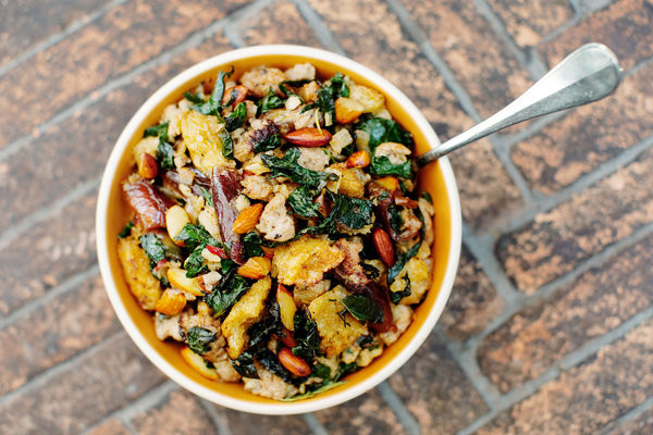 Kale Thanksgiving Recipes  Sourdough Stuffing With Kale and Dates Recipe NYT Cooking