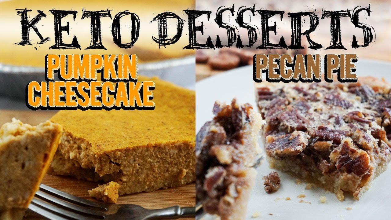Keto Thanksgiving Desserts  Thanksgiving Keto Desserts