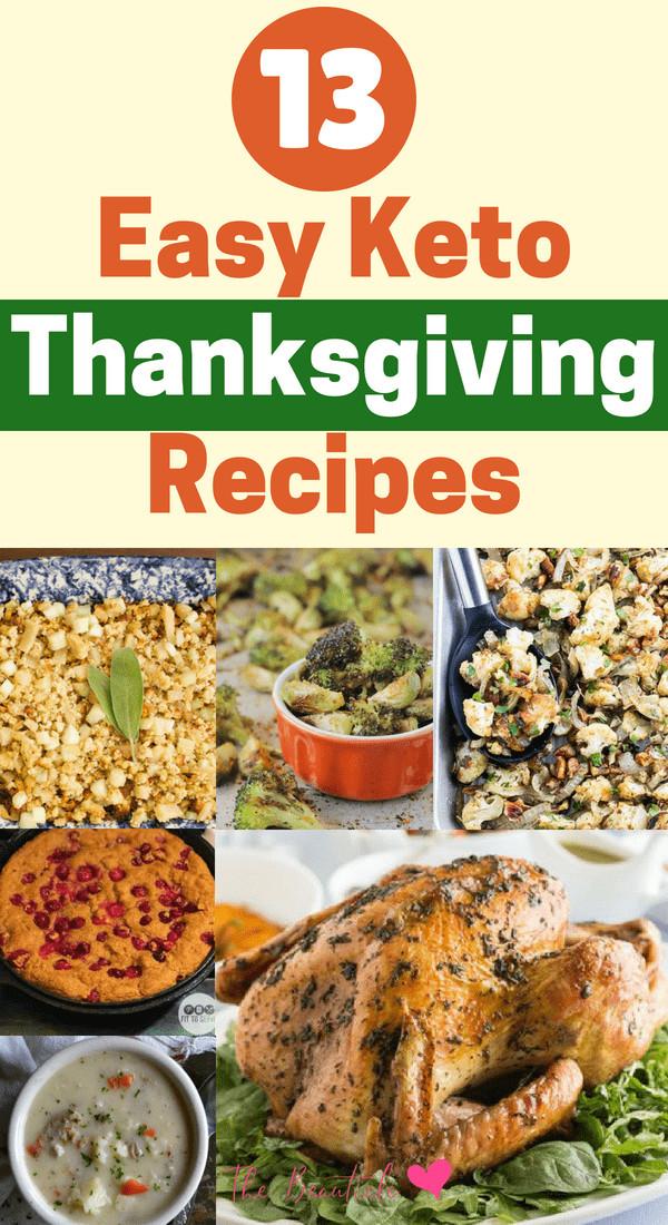 Keto Thanksgiving Desserts  13 Low Carb Keto Thanksgiving Recipes to Try
