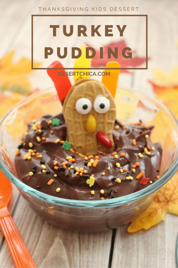 Kids Thanksgiving Desserts  Thanksgiving Turkey Pudding
