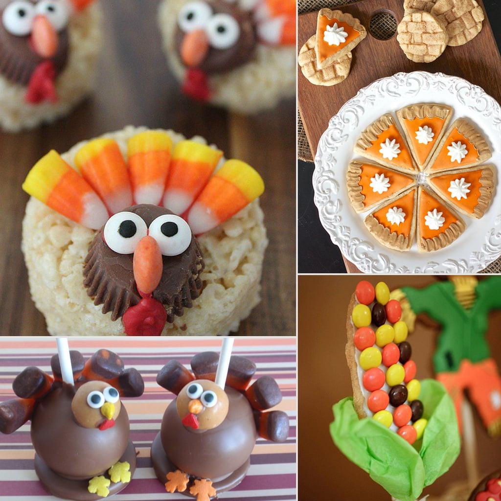 Kids Thanksgiving Desserts  of Thanksgiving Desserts For Kids