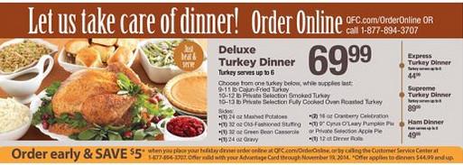 King Soopers Thanksgiving Dinner  kroger turkey dinners thanksgiving