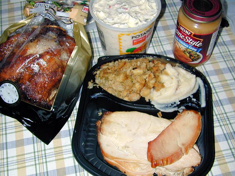 King Soopers Thanksgiving Dinner  Thanksgiving time Nov 2004