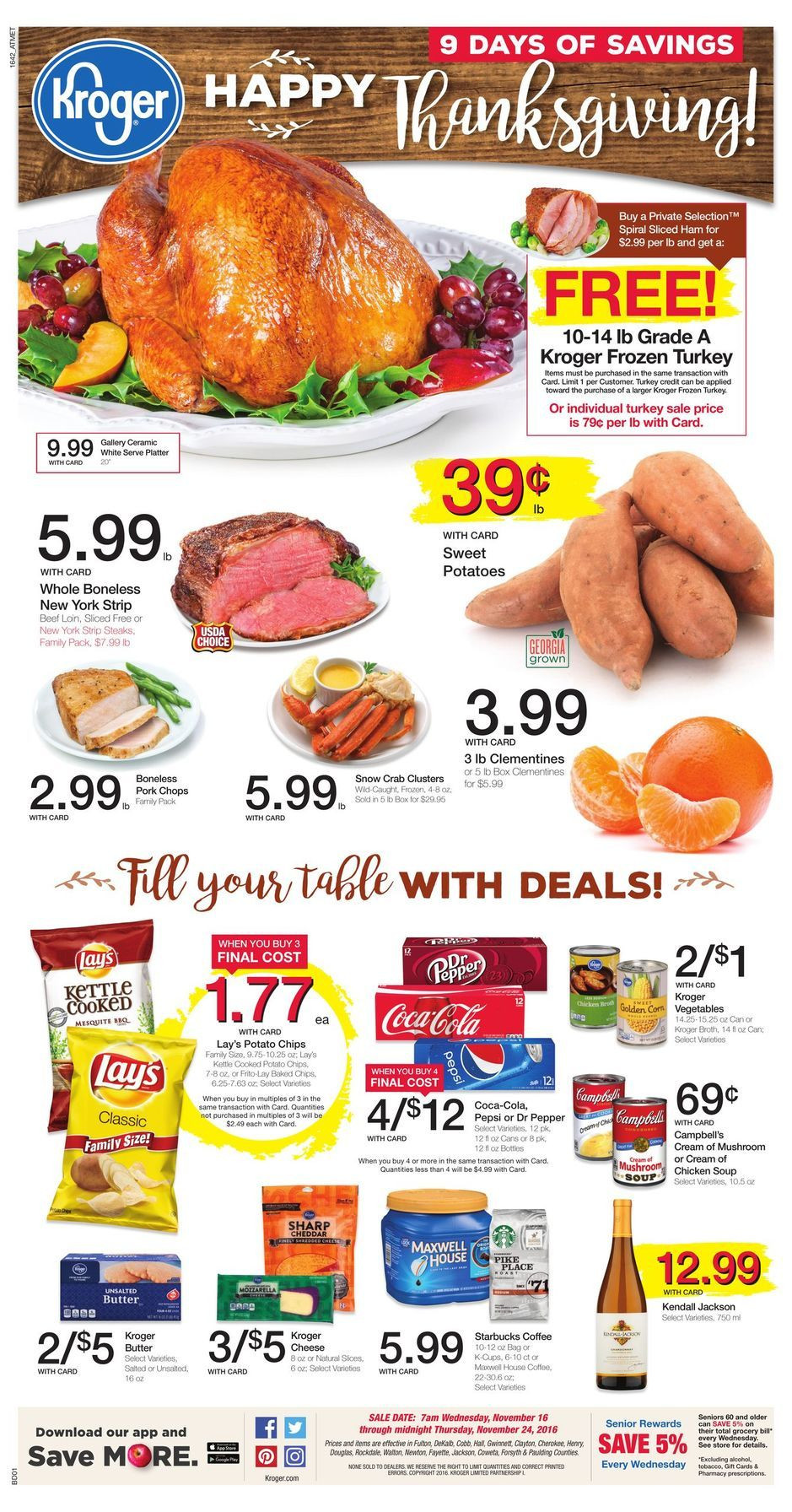 King Soopers Thanksgiving Dinner  Pin by Lucas on Shopping Weekly Ads