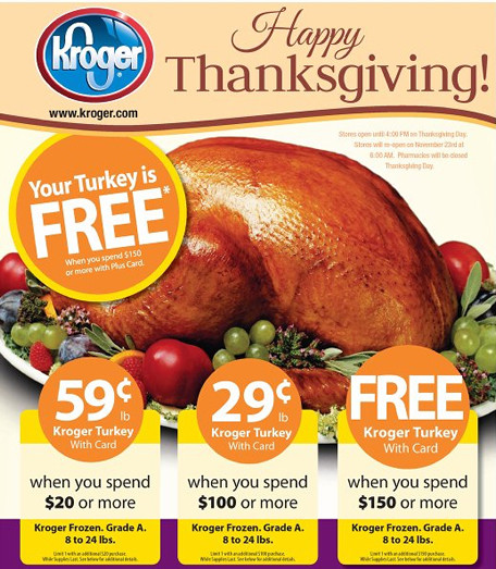 Krogers Thanksgiving Dinner 2019  Modern Saver How to Save Money on Meat and Produce