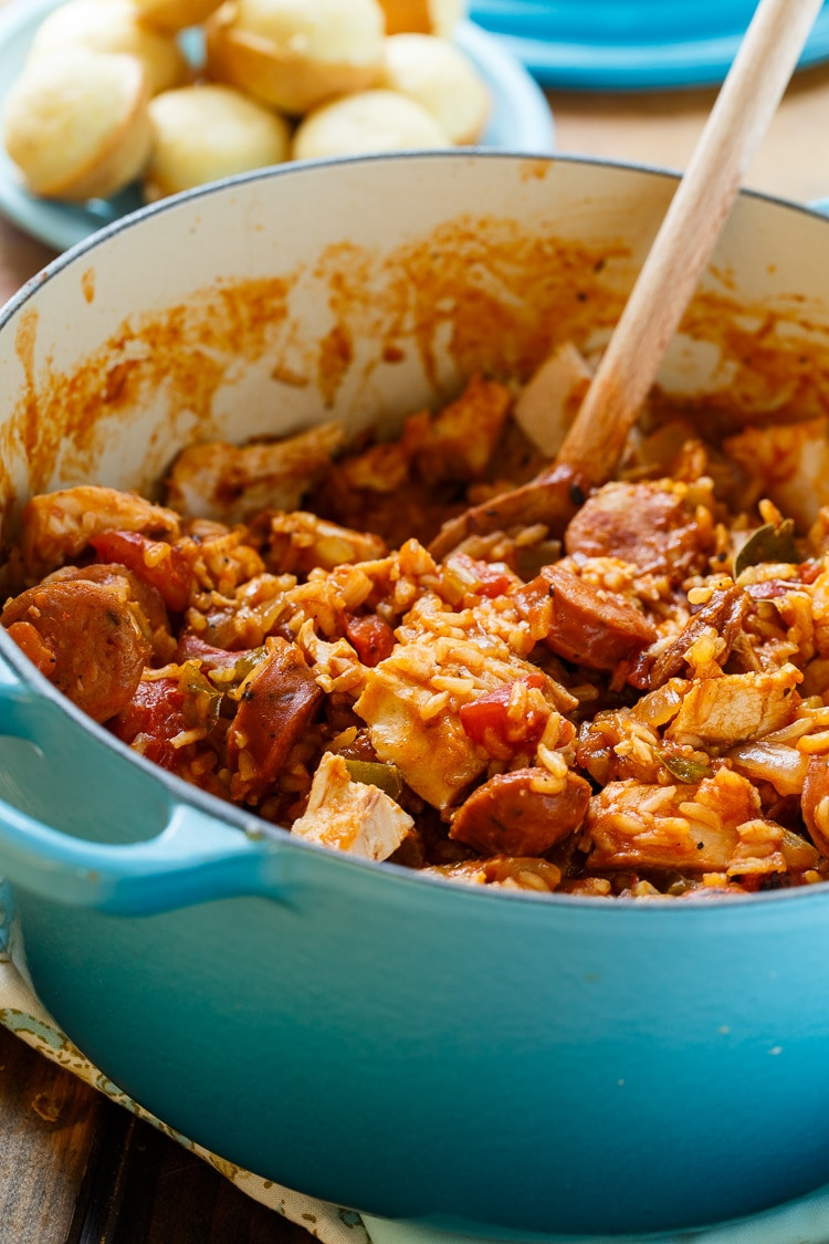 Left Over Thanksgiving Turkey Recipes  Leftover Turkey Jambalaya Spicy Southern Kitchen
