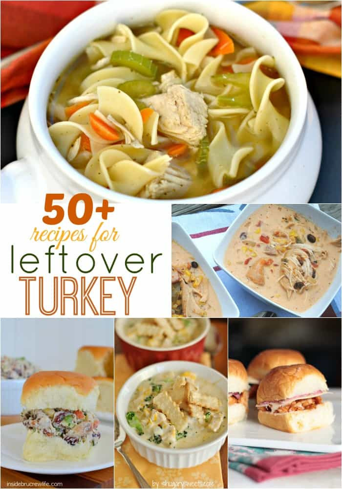 Left Over Thanksgiving Turkey Recipes  50 Recipes to Make with Leftover Turkey Shugary Sweets