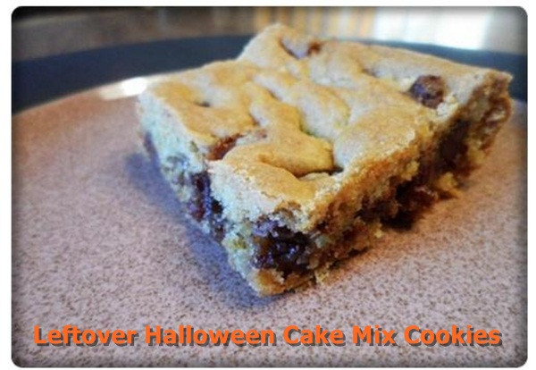 Leftover Halloween Candy Cookies  8 Cute & Easy Halloween Recipes