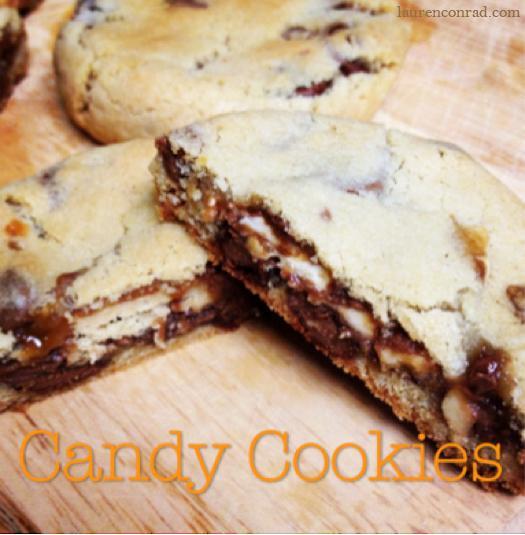 Leftover Halloween Candy Cookies  Sweet Tooth 3 Easy Halloween Treats – Lauren Conrad