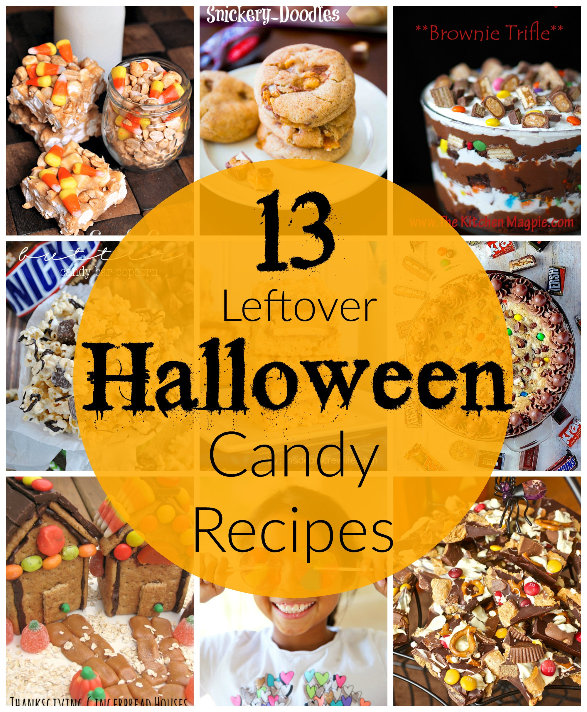 Leftover Halloween Candy Recipes  13 Leftover Halloween Candy Recipes
