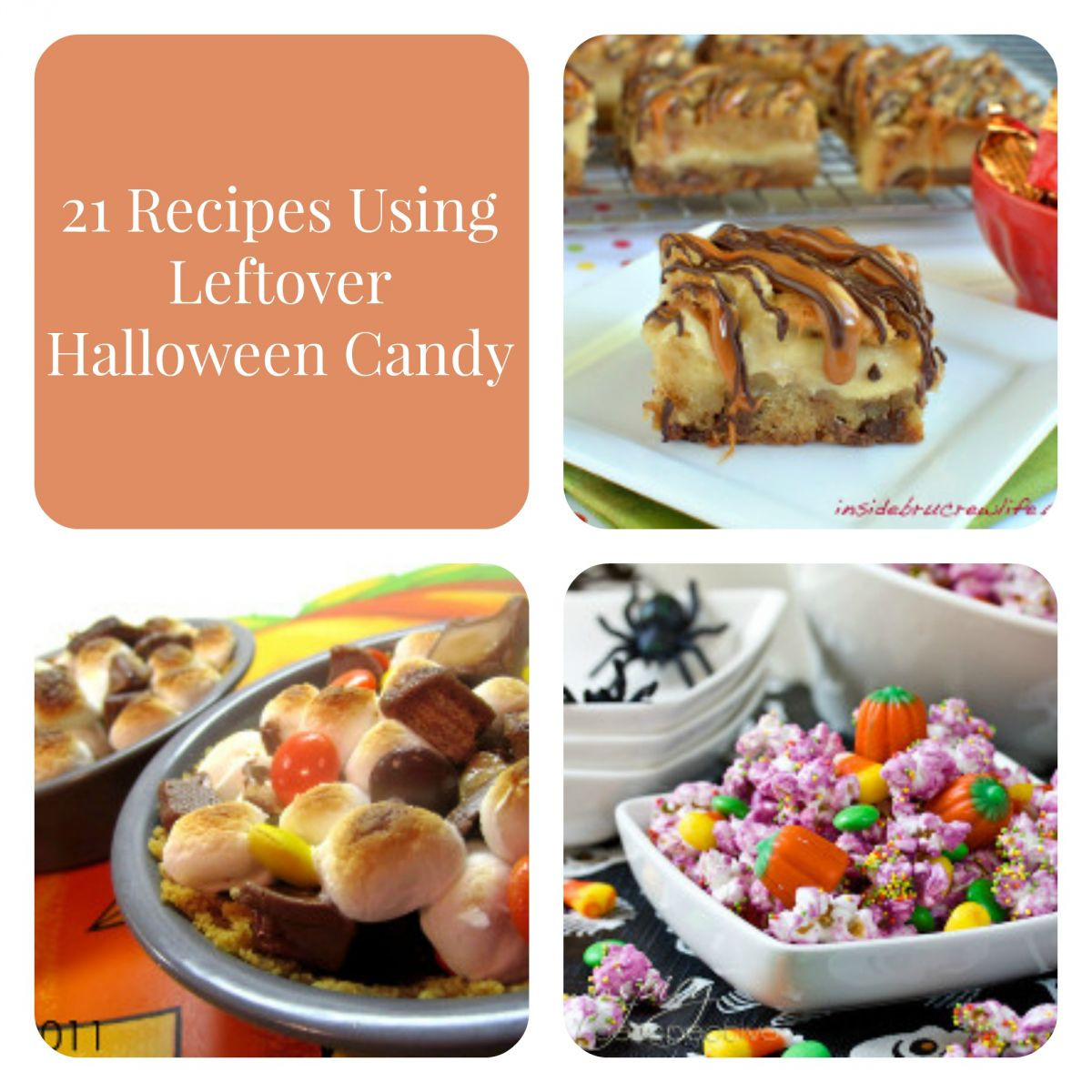 Leftover Halloween Candy Recipes  21 Recipes Using Leftover Halloween Candy