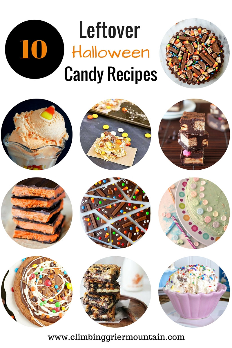 Leftover Halloween Candy Recipes  ten leftover halloween candy recipes Climbing Grier Mountain