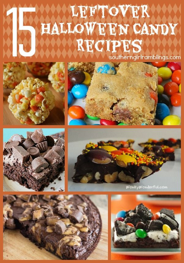 Leftover Halloween Candy Recipes  15 Leftover Halloween Candy Recipes – Plus My Favorite for