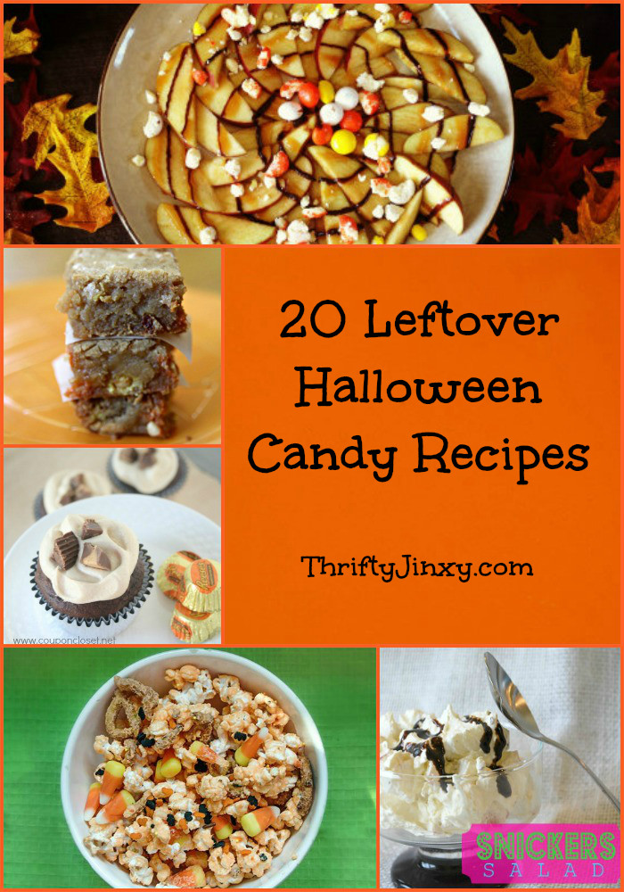 Leftover Halloween Candy Recipes  20 Leftover Halloween Candy Recipes Brownies Cupcakes