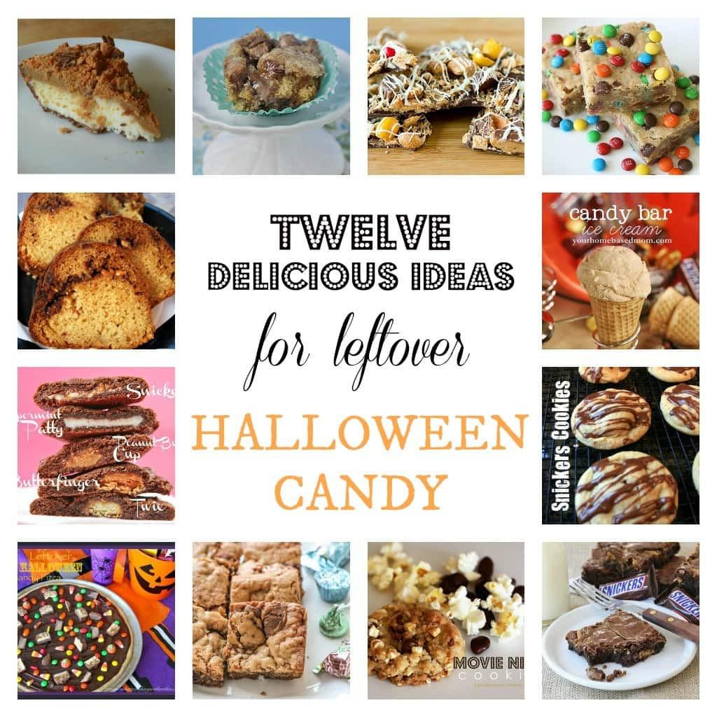 Leftover Halloween Candy Recipes  Twelve Delicious Ideas for Leftover Halloween Candy
