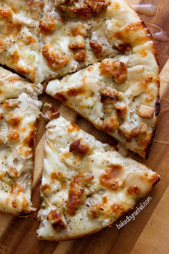 Leftover Thanksgiving Turkey  Leftover Thanksgiving Turkey Pizza