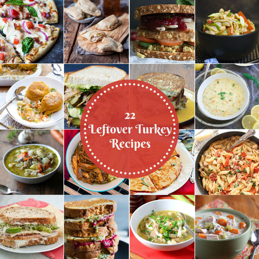 Leftover Thanksgiving Turkey Recipes  22 Leftover Turkey Recipes