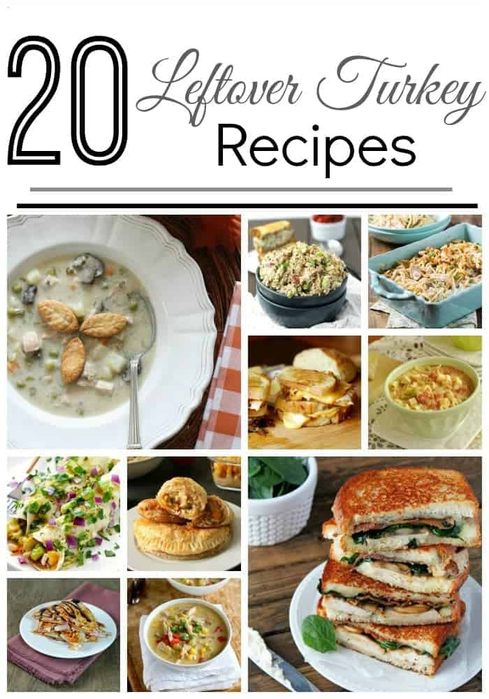 Leftover Thanksgiving Turkey Recipes  Leftover Turkey Recipes • The Pinning Mama
