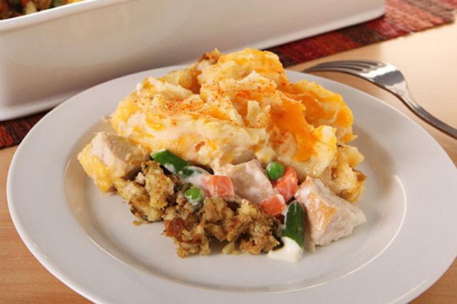 Leftovers Thanksgiving Casserole  Thanksgiving Leftovers Casserole Kraft Recipes