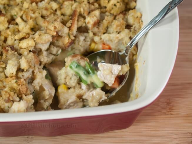 Leftovers Thanksgiving Casserole  Easy Leftover Turkey Casserole Recipe