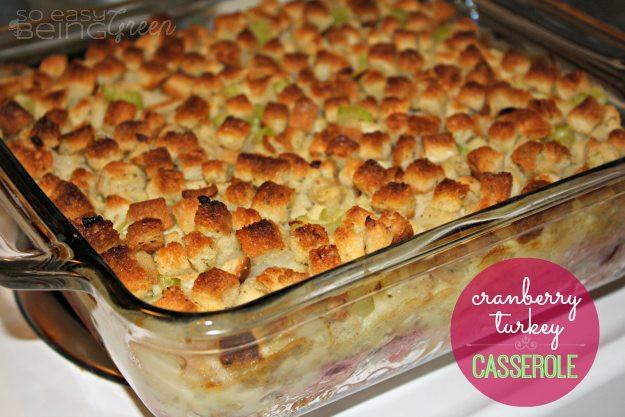 Leftovers Thanksgiving Casserole  Thanksgiving Leftovers Casserole
