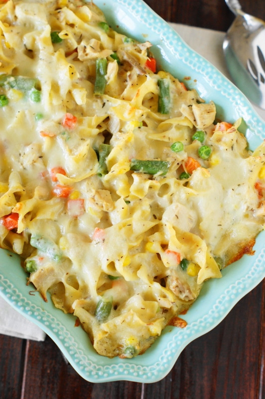 Leftovers Thanksgiving Casserole  Leftover Turkey Noodle Casserole