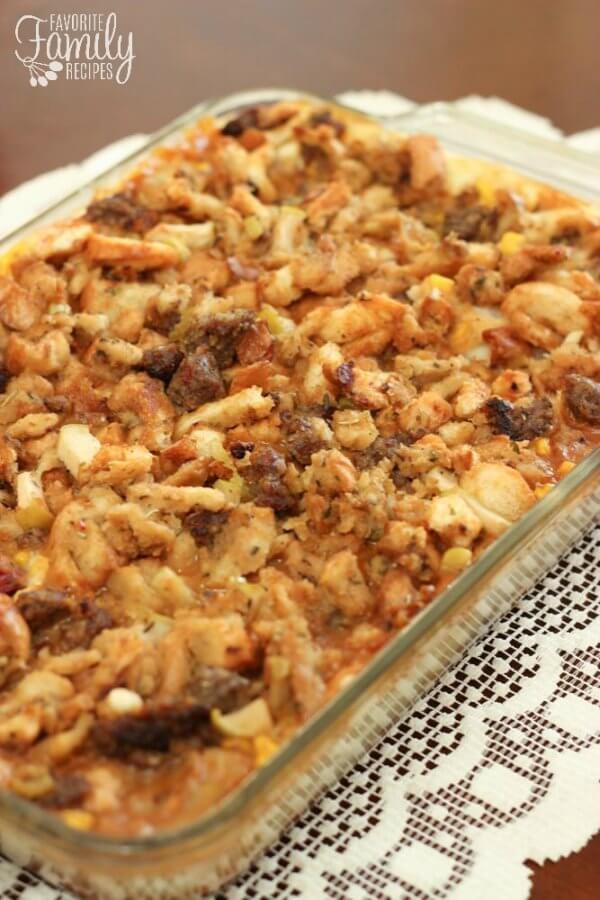 Leftovers Thanksgiving Casserole  Thanksgiving Leftover Casserole