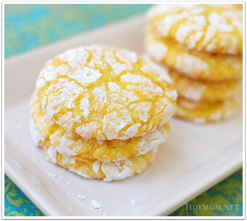Lemon Christmas Cookies  12 Gifts of Christmas Cookies