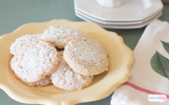 Lemon Christmas Cookies  Lemon Oatmeal Lacies Christmas Cookie Recipe Atta Girl Says
