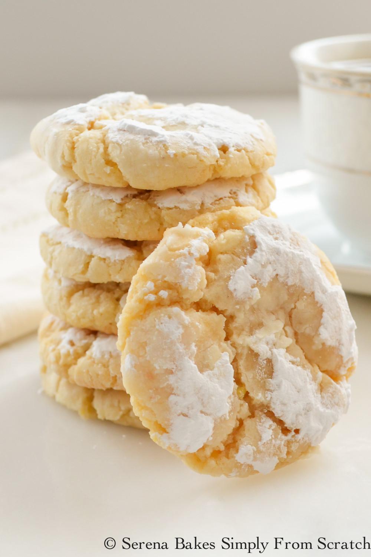 Lemon Christmas Cookies  Soft and Chewy Lemon Cookies