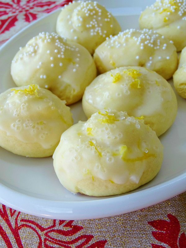 Lemon Christmas Cookies  Anginetti Italian Lemon Knot Cookies Proud Italian Cook