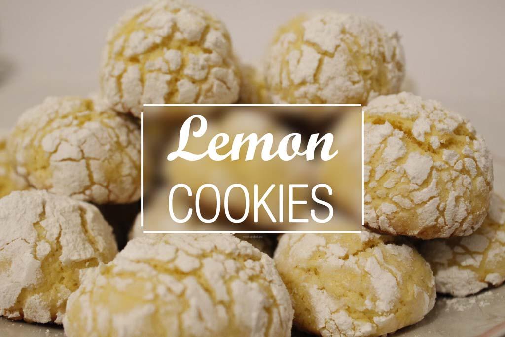 Lemon Christmas Cookies  Homemade Lemon Christmas Cookies