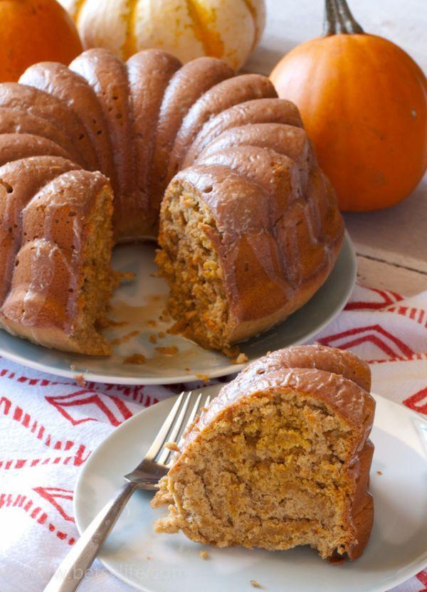 Light Fall Desserts  Light Pumpkin Spice Bundt Cake