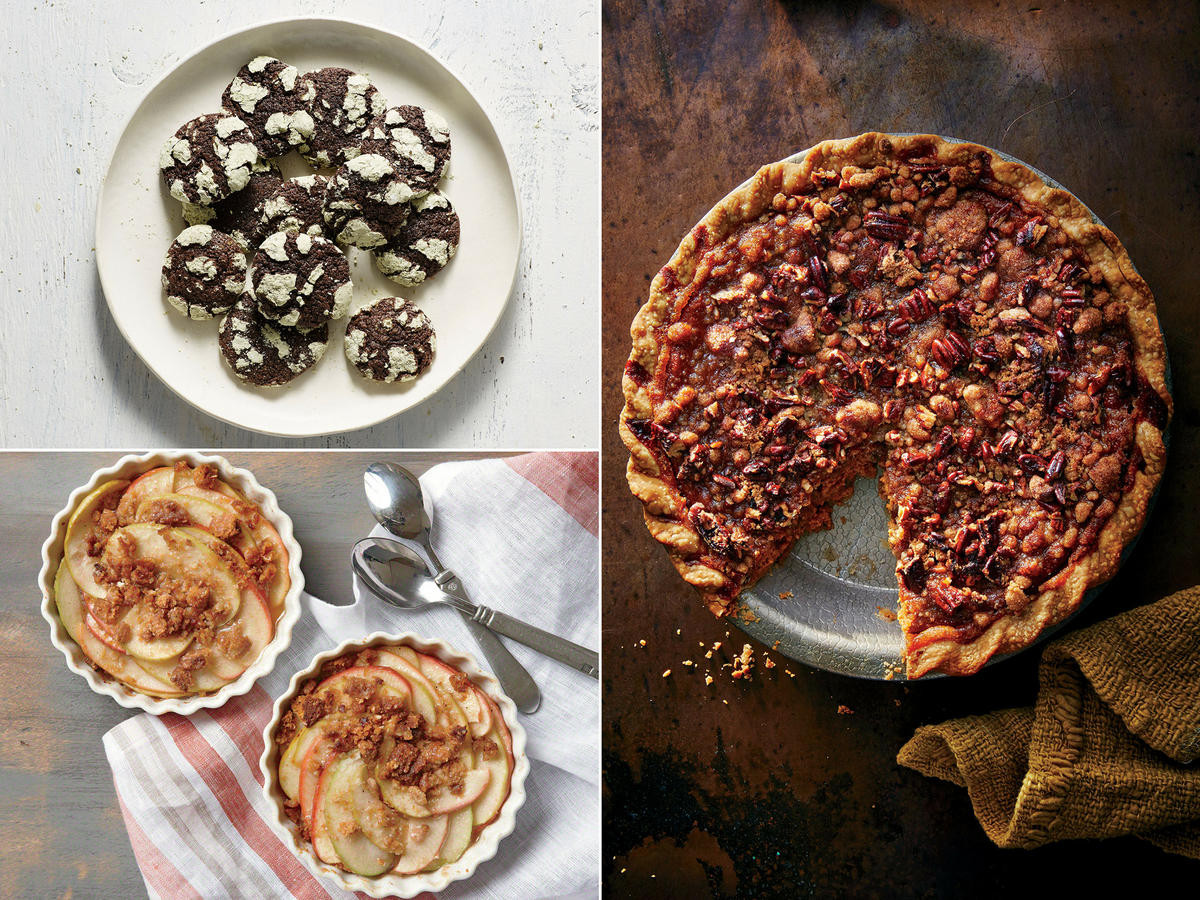 Lighter Thanksgiving Desserts  Healthy Thanksgiving Menu Recipes and Ideas Cooking Light