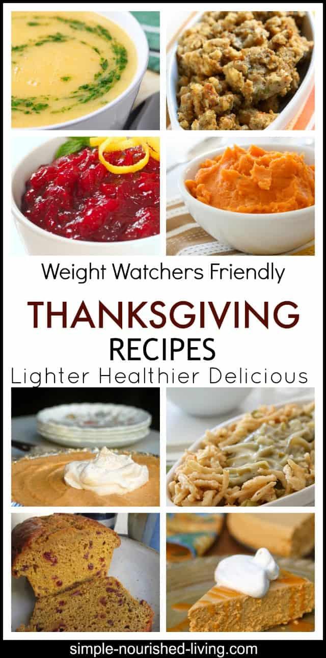 Lighter Thanksgiving Desserts  Lighter Thanksgiving Recipes for Weight Watchers