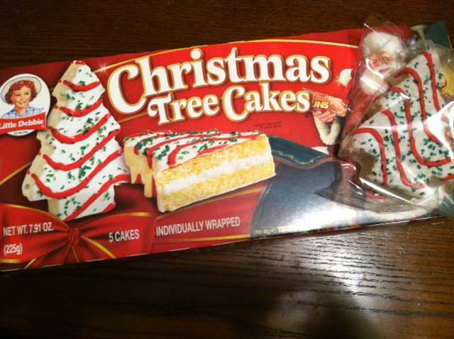 Little Debbie Christmas Cakes  Pineapple Pete 1st Day of Christmas